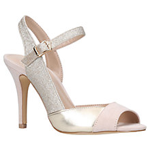 Buy Carvela Louise Stiletto Heel Sandals, Nude Online at johnlewis.com