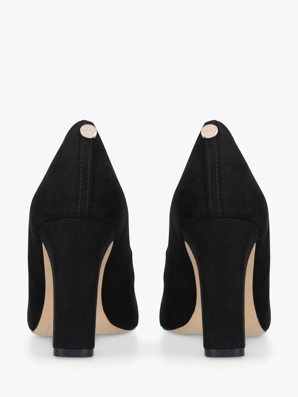 Carvela Carvela Kruise Block Heel Court Shoes, Black