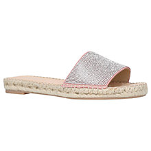 Buy Carvela Karly Sandals, Pale Pink Suede Online at johnlewis.com