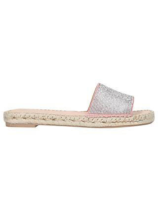 Carvela Karly Sandals, Pale Pink Suede