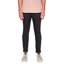 Buy Ted Baker T For Tall Printt Tapered Jeans, Grey Online at johnlewis.com