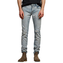 Buy AllSaints Iredell Rex Skinny Fit Jeans, Indigo Online at johnlewis.com