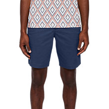 Buy Ted Baker Proshor Chino Shorts, Dark Blue Online at johnlewis.com