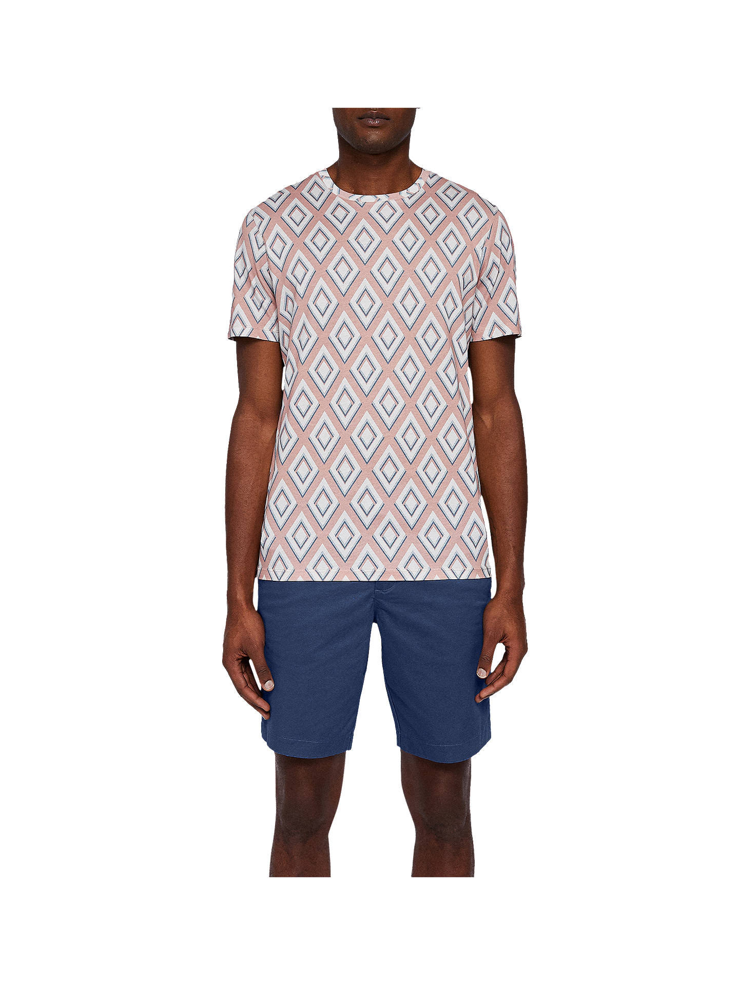 Buy Ted Baker Proshor Chino Shorts, Dark Blue, 34R Online at johnlewis.com