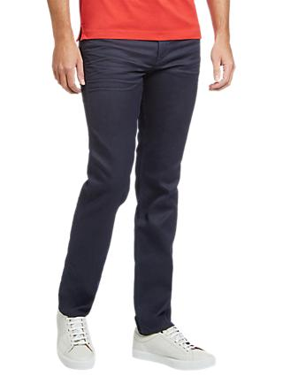 BOSS Delaware Slim Fit Jeans, Navy