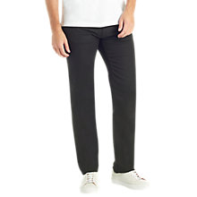 Buy BOSS Maine Regular Fit Jeans, Black Online at johnlewis.com