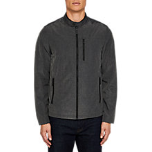 Buy Ted Baker Macand Lightweight Harrington Jacket, Grey Online at johnlewis.com