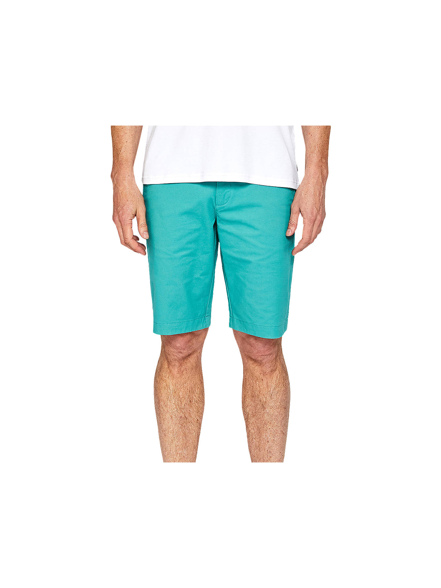 BuyTed Baker Proshor Chino Shorts, Green, 30R Online at johnlewis.com