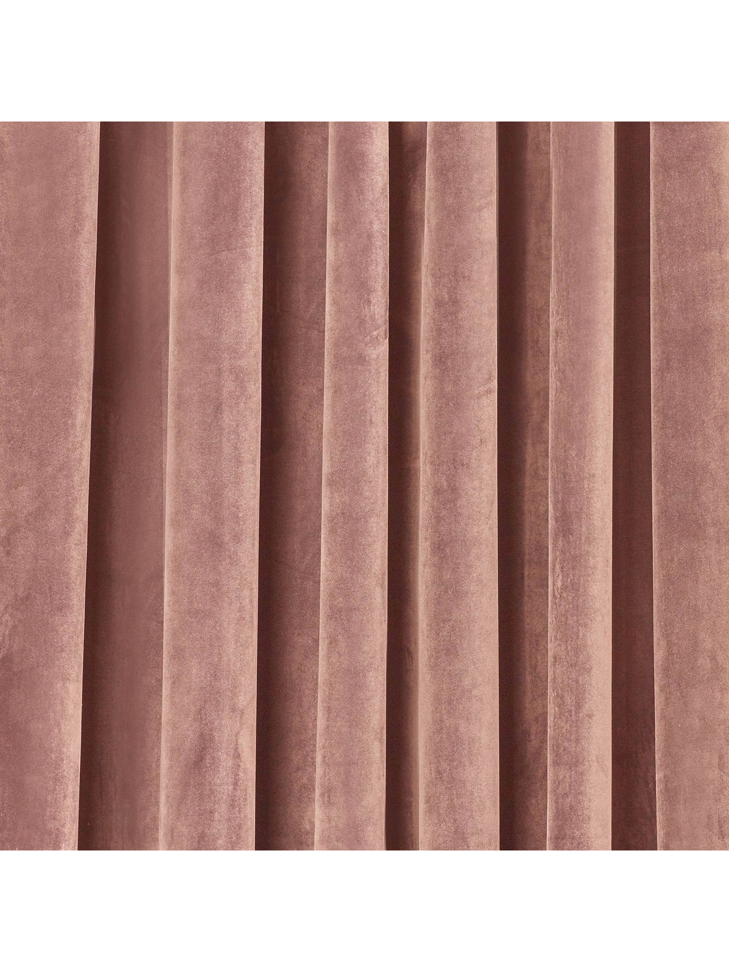 Buy John Lewis & Partners Lustre Velvet Pair Lined Multiway Curtains, Pink, W228 x Drop 274cm Online at johnlewis.com