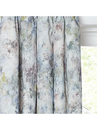 John Lewis & Partners Giverny Pair Lined Pencil Pleat Curtains, Multi