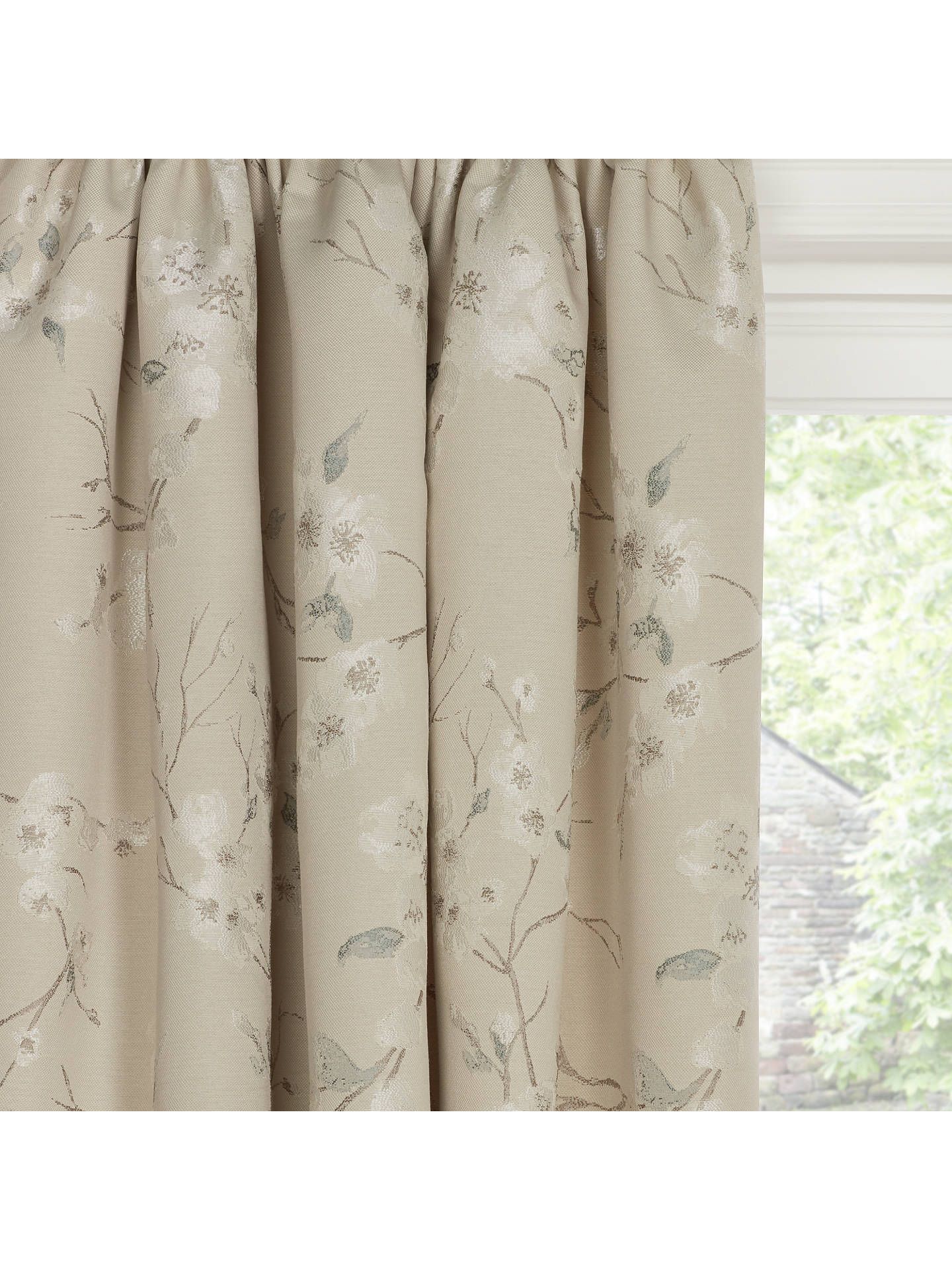 john lewis partners misaki weave pair lined pencil pleat. Black Bedroom Furniture Sets. Home Design Ideas