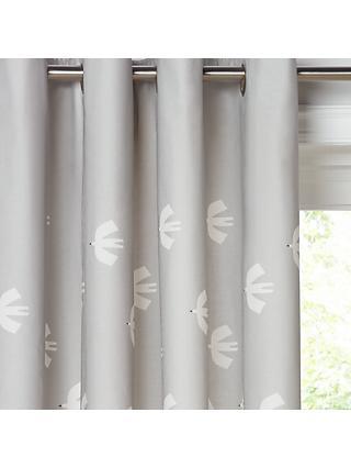Scion Pajaro Lined Eyelet Curtains
