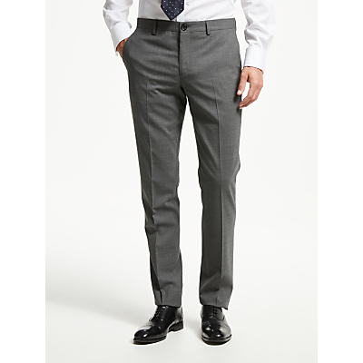 PS Paul Smith Tailored Fit Suit Trousers, Grey
