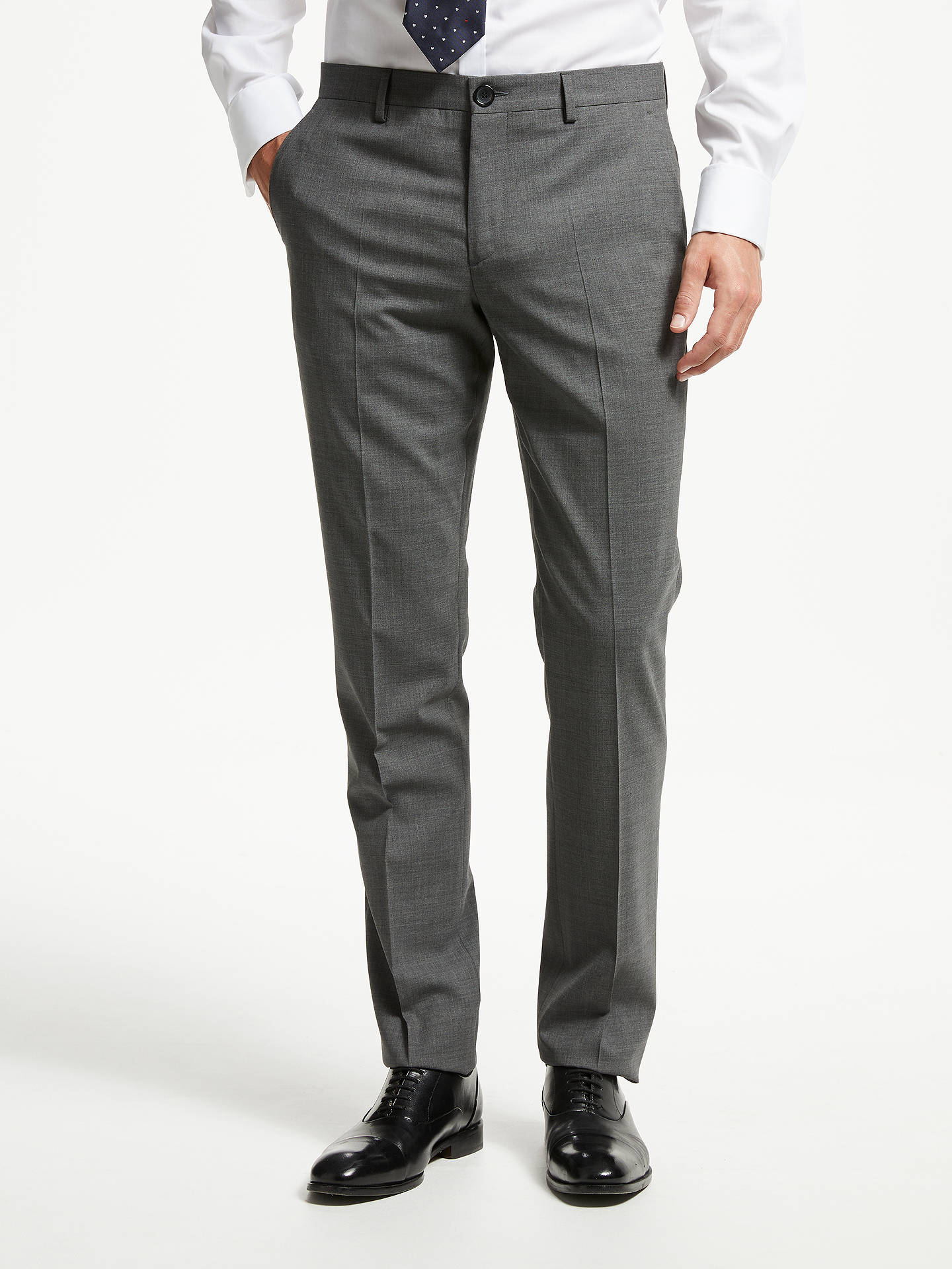 BuyPS Paul Smith Tailored Fit Suit Trousers, Grey, 30R Online at johnlewis.com