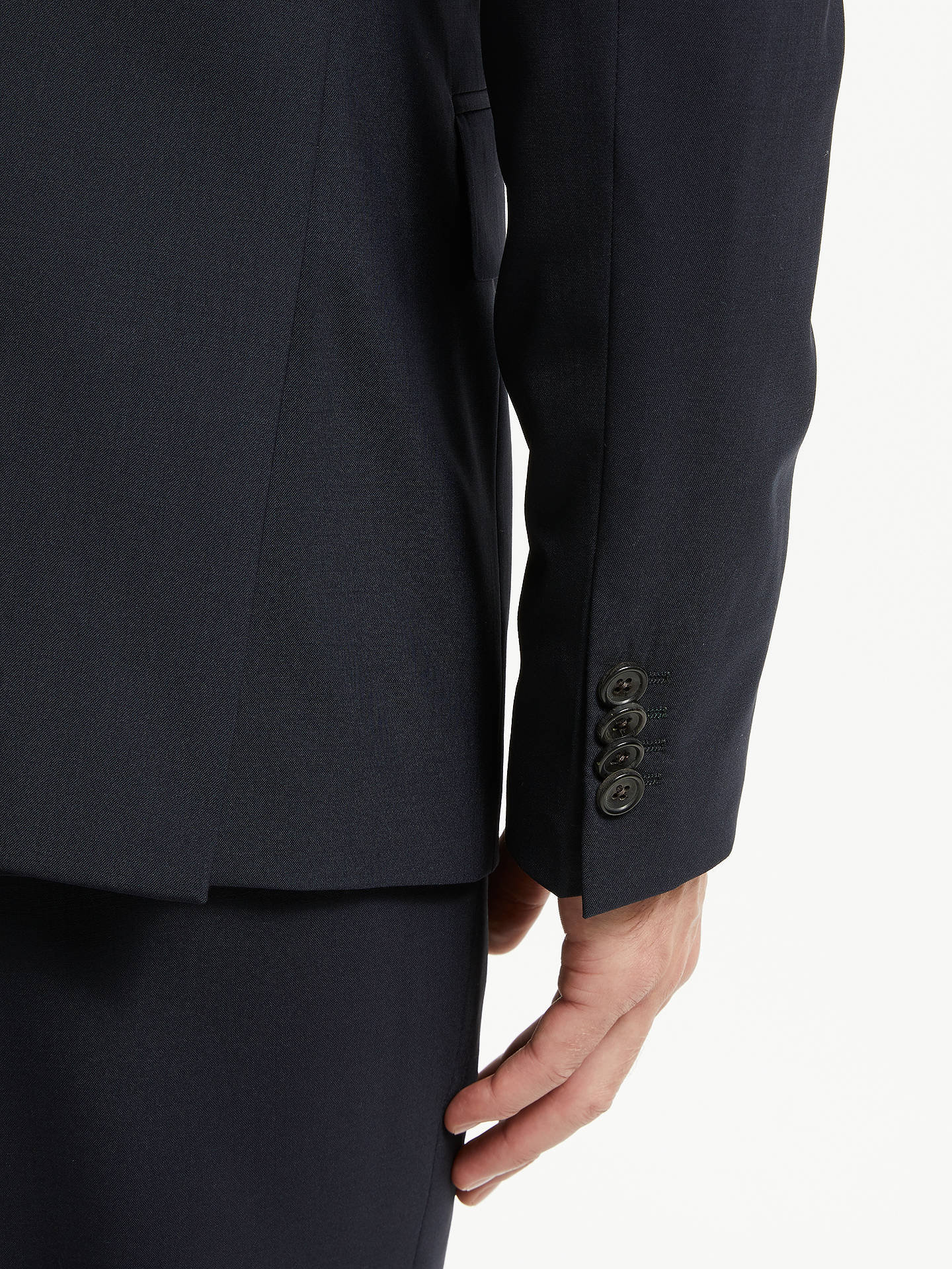 Buy PS Paul Smith Tailored Fit Suit Jacket, Navy, 36R Online at johnlewis.com