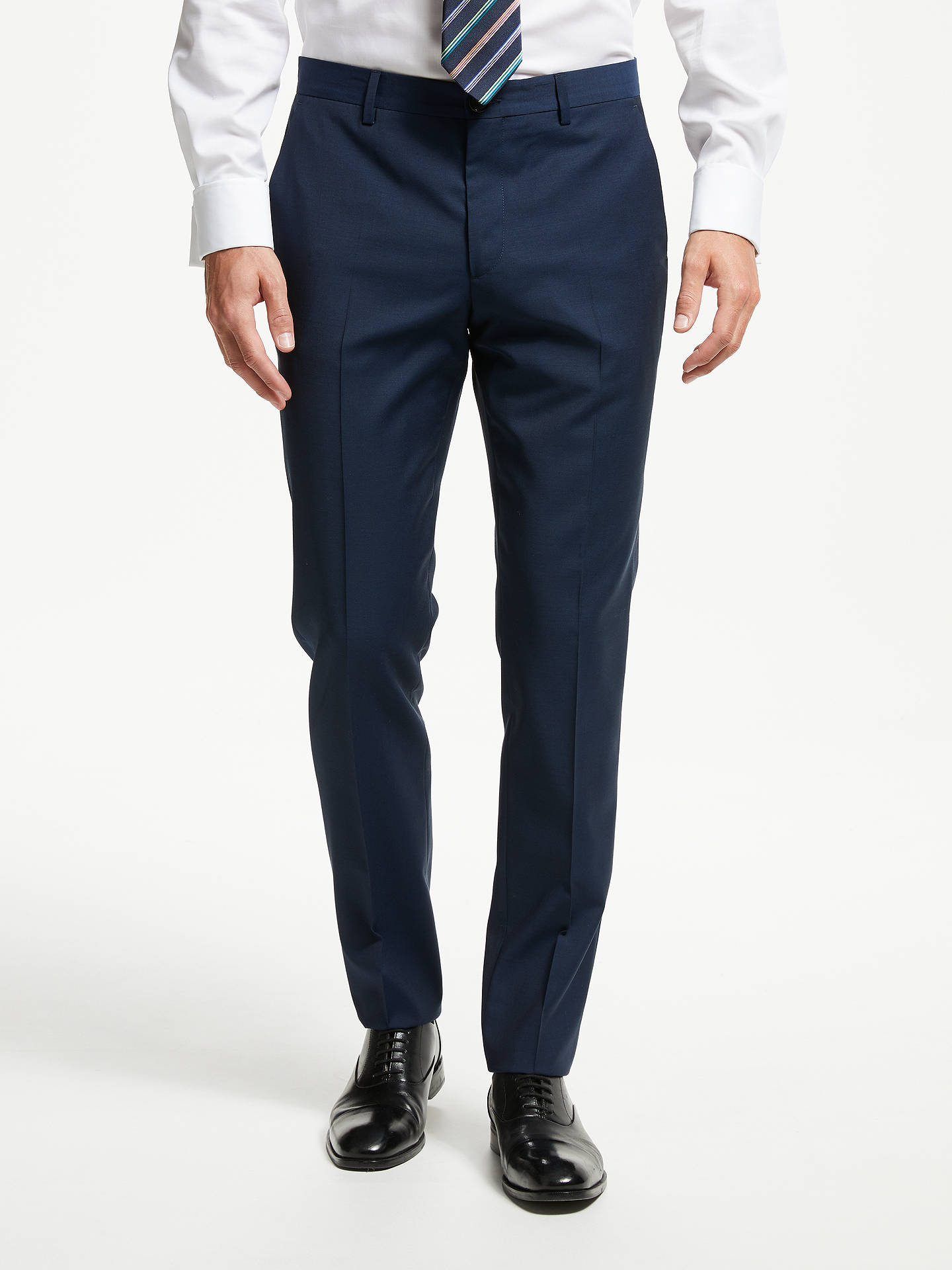 2348615053 Buy PS Paul Smith Wool Mohair Tailored Fit Suit Trousers, Navy, 30R Online  at ...