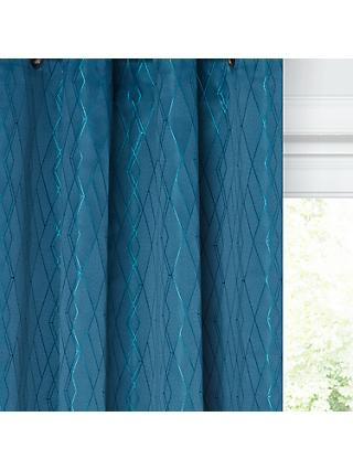 John Lewis & Partners Teora Lined Eyelet Curtains