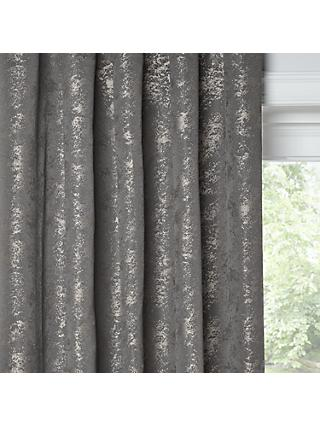 John Lewis Partners Kensington Pair Lined Eyelet Curtains