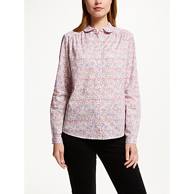 Collection WEEKEND by John Lewis Indiana Lorelai Floral Shirt, White/Multi
