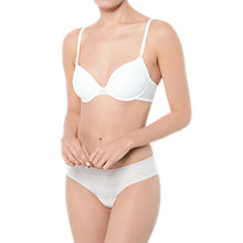 Buy sloggi Zero Lace T-Shirt Bra Online at johnlewis.com