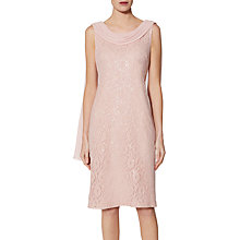 Buy Gina Bacconi Bianca Lace Dress, Blush Online at johnlewis.com