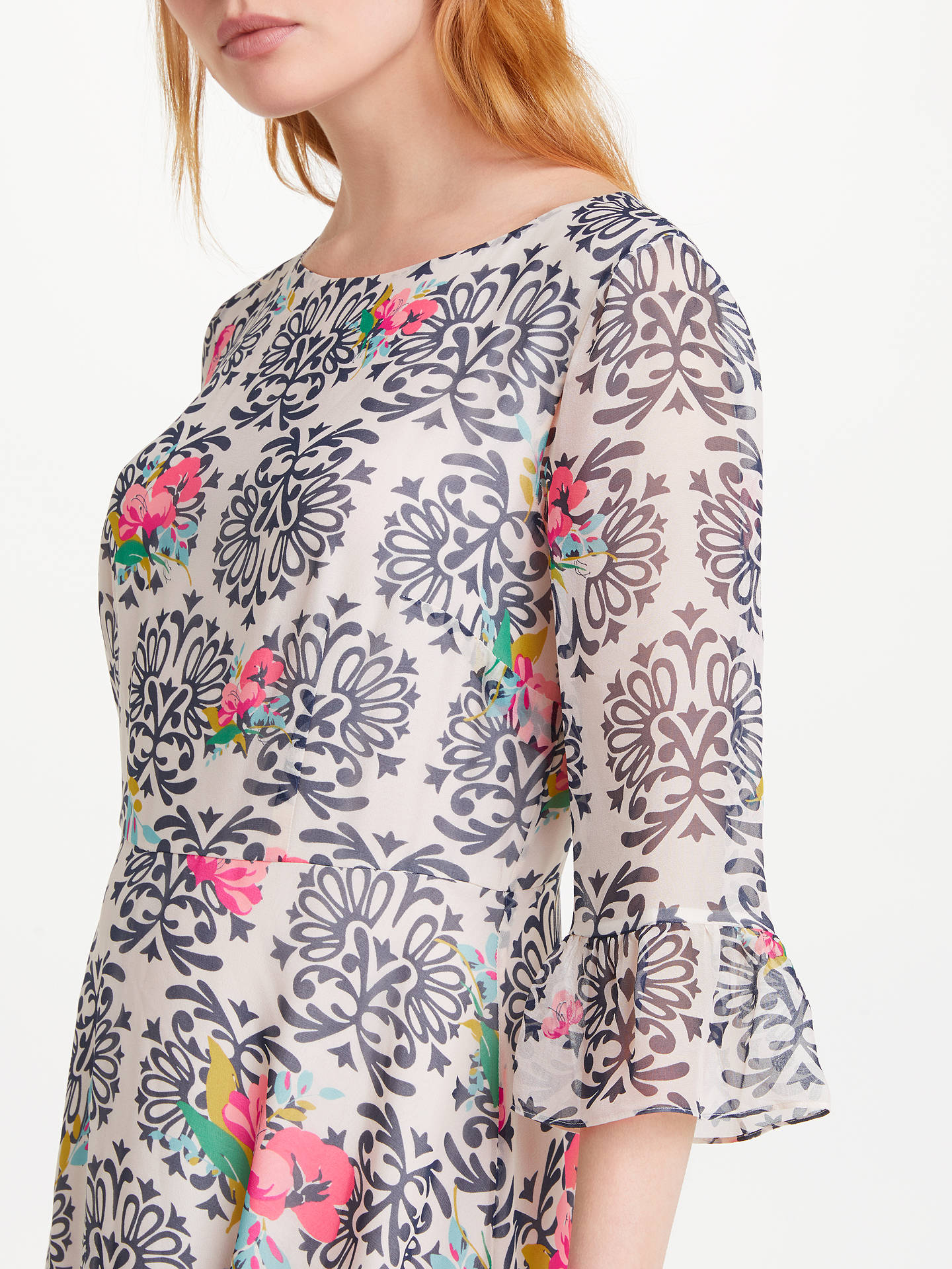 BuyBoden Beatrix Dress, Multi Wild Bloom Flourish, 8 Online at johnlewis.com