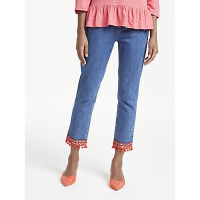 Boden Cambridge Ankle Skimmer Jeans, Blue