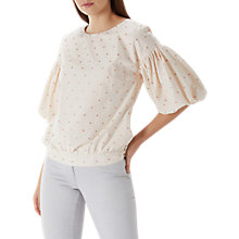 Buy Coast Jupiter Top, Blush Pink Online at johnlewis.com