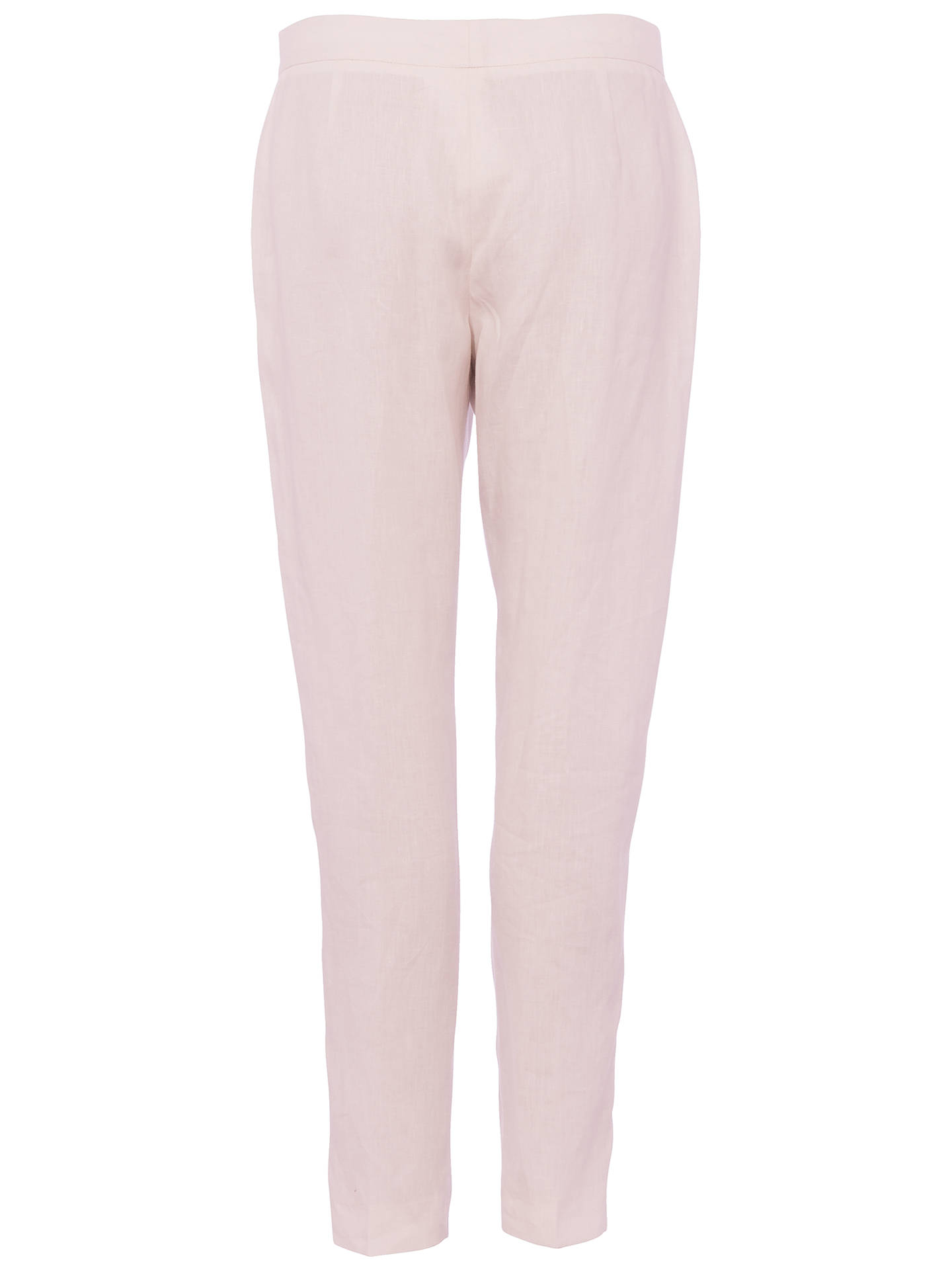BuyFrench Connection Haiti Linen Trousers, Barely Pink, 8 Online at johnlewis.com
