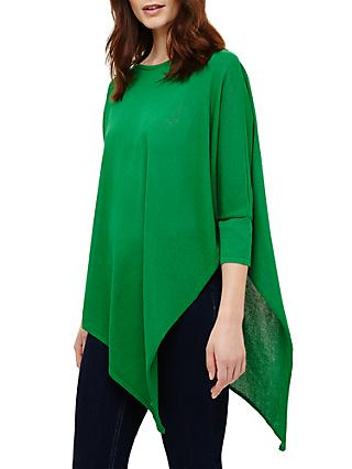 Phase Eight Melinda Asymmetric Jumper, Parakeet