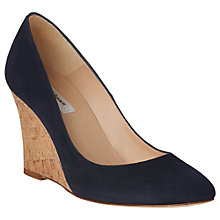 Buy L.K.Bennett Eila Wedge Heel Court Shoes Online at johnlewis.com