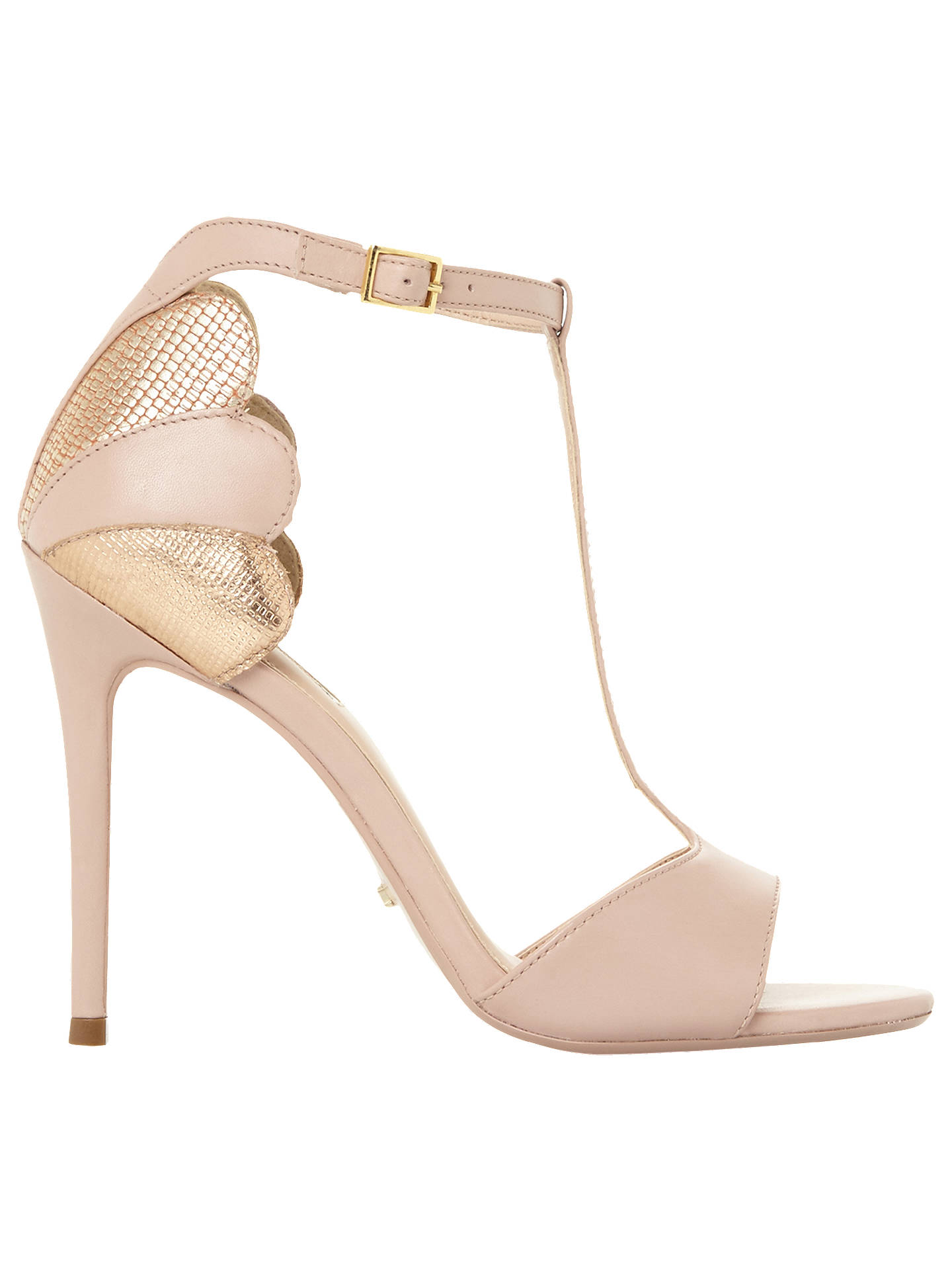 Dune Mythos T Bar Open Toe Sandals at John Lewis & Partners