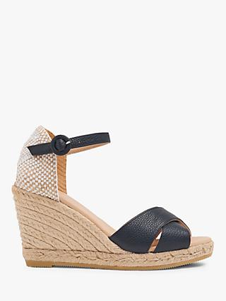 L.K.Bennett Angele Wedge Heel Sandals