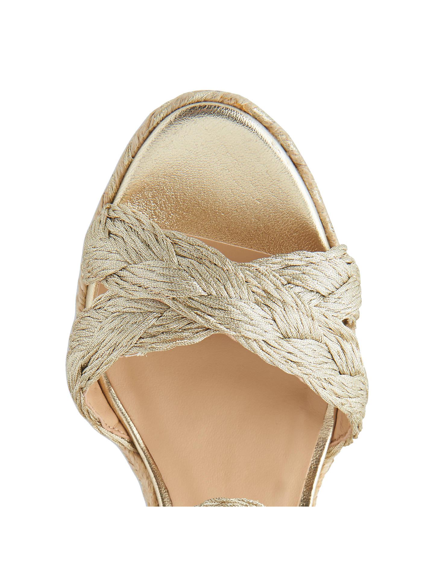 7fa947c1268 L.K.Bennett Roxie Wedge Heel Espadrille Sandals at John Lewis & Partners