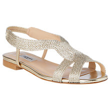 Buy L.K.Bennett Maya Sandals, Soft Gold Online at johnlewis.com
