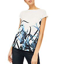 Buy Mint Velvet Jamie Printed Top, Multi Online at johnlewis.com