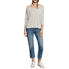 Buy French Connection Spring Light Jumper, Light Grey Online at johnlewis.com