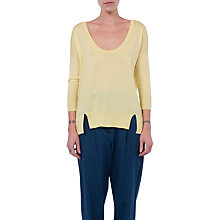 Buy French Connection Spring Light Split Hem Jumper Online at johnlewis.com