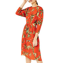 Buy Warehouse Barbican Barbara Print Dress, Multi Online at johnlewis.com