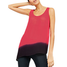 Buy Mint Velvet Ombre Asymmetric Vest Top, Multi Online at johnlewis.com