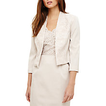 Buy Phase Eight Trixie Lace Jacket, Neutral Pearl Online at johnlewis.com