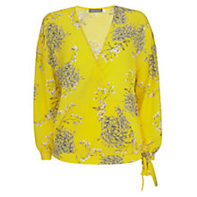 Buy Mint Velvet Natasha Print Wrap Blouse, Multi Online at johnlewis.com