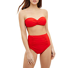 Buy Phase Eight Shelly Bikini Briefs, Scarlet Online at johnlewis.com