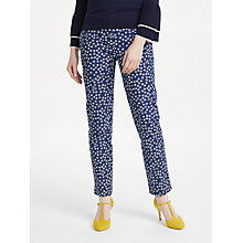 Buy Boden Richmond 7/8 Trousers, Rosehip Online at johnlewis.com