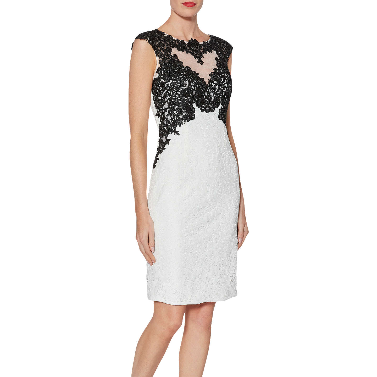 Excellent Online Buy Cheap Affordable Womens Tallulah Contrast Lace Party Dress Gina Bacconi Sale High Quality Clearance Looking For c70UHoM1iv