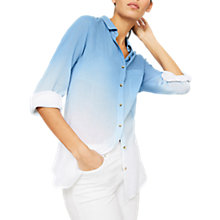 Buy Mint Velvet Ombre Long Sleeve Shirt, Multi Online at johnlewis.com