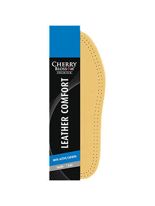 Buy Cherry Blossom Leather Comfort Insoles, Natural, 7 Online at johnlewis.com