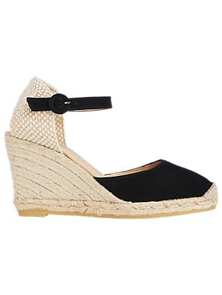 L.K.Bennett Harrison Suede Wedge Heel Sandals