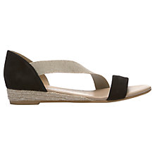 Buy Mint Velvet Ella Slip On Asymmetrical Sandals Online at johnlewis.com