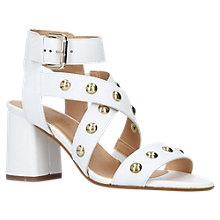Buy Carvela Guy Studded Block Heel Sandals Online at johnlewis.com